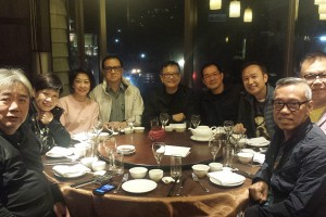 LUSEB Appreciation dinner at Taipei